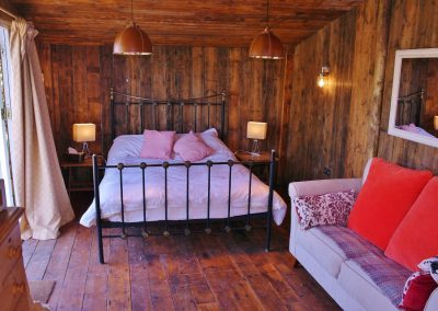 self catering cabin retreat shropshire